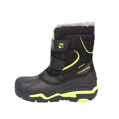 Campri Youngster Snow Boots Childrens Snowproof Hook and Loop Winter
