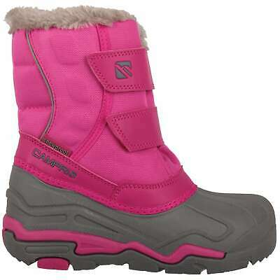 Campri Childrens Snow Boots Snowproof Hook and Loop Warm