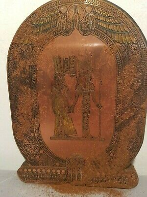 Rare Antique Ancient Egyptian Stelas Goddess Hathor Isis Good Healty1520-1450BC