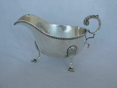 Vintage English Sterling Silver Made For Tiffany Sauce Boat