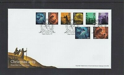 GB 2019 Christmas Religious FDC First Day Cover Angel London N1 special pmk