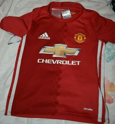 Authentic Adidas Men/'s Manchester United Home Shirt 2016//17 Size 3XL