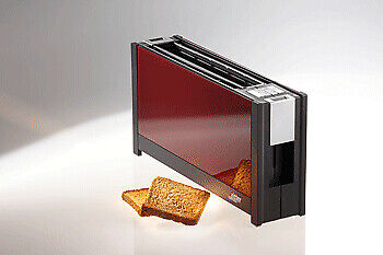 ritter Volcano 5 2 slice(s) Red 950 W 220 240 V 385 mm 90 mm Toaster Red 630,002