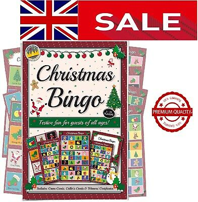 Xma Party Bingo Game: Fun & Games For Family, Office And Kids Xmas Part...