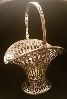 Continental Silver Basket With Glass Liner