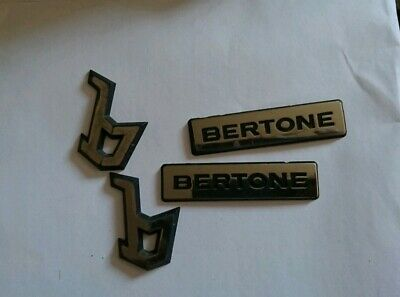 Genuine  VAUXHALL BERTONE badges for Astra G Coupe/Convertible 1998-05 Opel