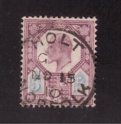 Great Britain 1902 Used # 134 King Edward Vii !!  D77