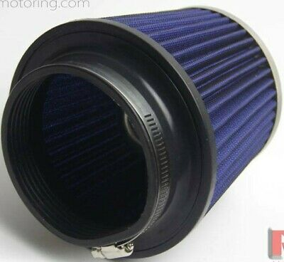 "3.5/"" Inlet Short Ram Cold Air Intake Filter Round//Cone Universal BLACK For BMW 2"