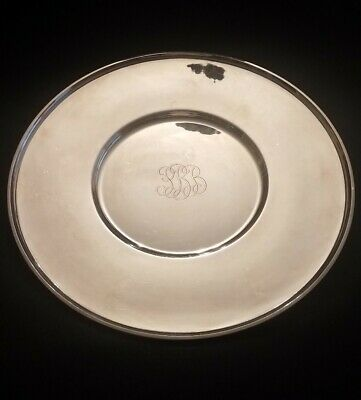 Tiffany & Co. Large 16 Inch Sterling Silver Platter 51 Ounces