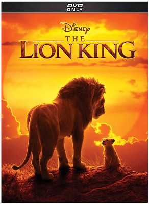 The Lion King (DVD, 2019 - Live Version) New & Sealed FREE Shipping!