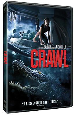 Crawl (DVD, 2019) New & Sealed FREE Shipping!