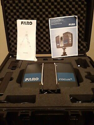 New Faro S 350 laser scanner with touch screen display