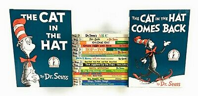 Lot 19 Dr Seuss Bright & Early Beginner Books Set Thomas Tank Berenstain Bears