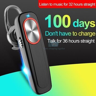 L9 Bluetooth Wireless Headset Headphone Mobile Phone Hands Free Earpiece Drive