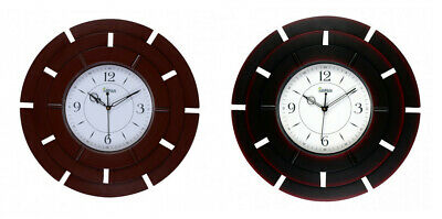 Analog Antique Round Wall Clock For Home,Kitchen,Living Room,Bedroom In 2 Colour