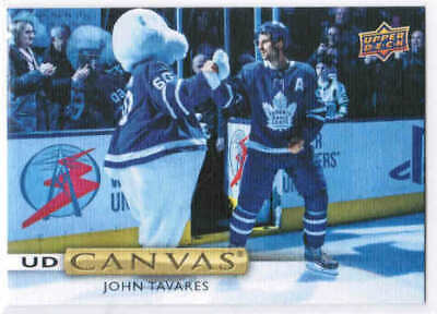 19/20 2019 UPPER DECK SERIES 1 HOCKEY UD CANVAS CARDS (C1-C90) U-Pick From List