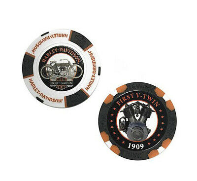 Harley-Davidson Limited Edition Poker Chip Series 2 1909 Collectors Pack 6702D