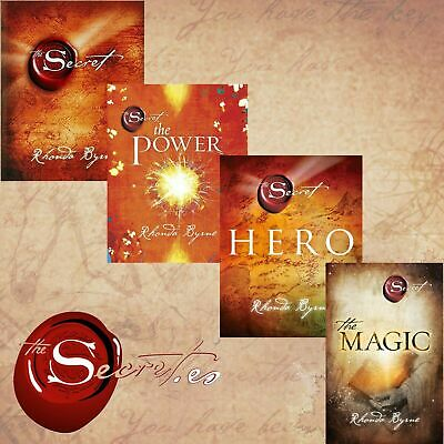 Rhonda Byrne The Secret Series 4 Books Set (PDF books-Secret,Hero,Magic,Power)