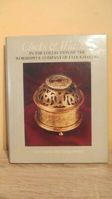 """1975 """"Clocks & Watches - Worshipful Company Clockmakers 1St Ed -Illus - Horology"""