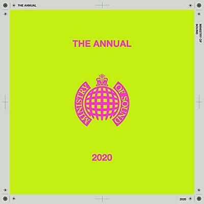 The Annual 2020 - Ministry Of Sound - Various (NEW 2CD)