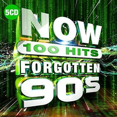 NOW 100 Hits Forgotten 90s - Various Artists (NEW 5CD)