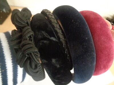 5 Vintage Alice Ladies Hair Bands All Excellent Un-Used