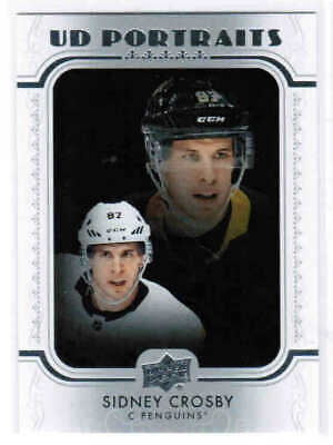 19/20 UPPER DECK SERIES 1 HOCKEY UD PORTRAITS CARDS (P-1 -P-50) U-Pick From List