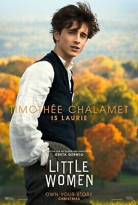 Little Women movie poster (f)  :  11 x 17 inches : Timothee Chalamet