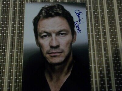 Dominic West, Actor, Original Hand Signed Photos 6 x 4