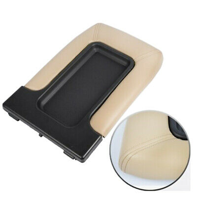 Center Console Lid Armrest Cover For Chevy GMC Silverado Sierra 1999-2007 Beige