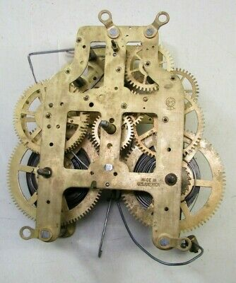 Antique Seth Thomas Adamantine Mantel Clock Movement Parts Repair