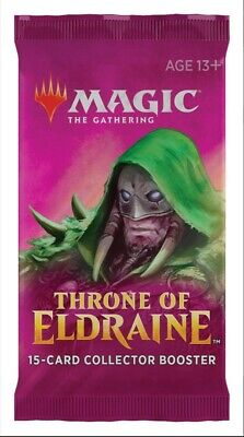 Throne of Eldraine Collector's Booster Pack - English - MTG - Free Shipping!