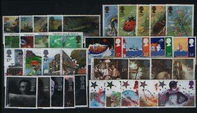 Gb Complete Year All 8 Sets Commemorative Stamps Issued In 1985 Unmounted Mint
