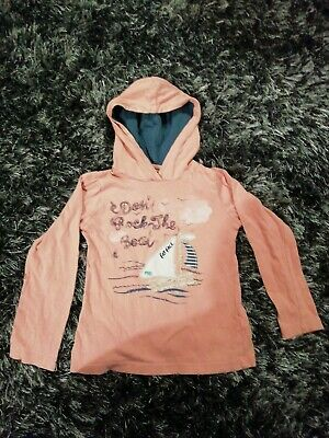 Fat Face Girls Hooded Top Age 4-5