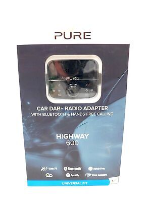 PURE Highway 600 In-Car DAB+/FM Bluetooth Adapter With Spotify BOXED 8 - Y200