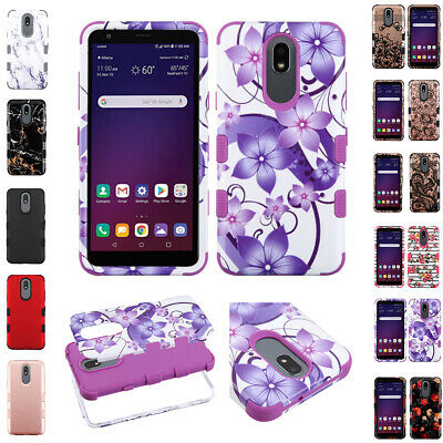 For Lg Escape Plus, Aristo 4+ Tuff Armor Dual Layer Case Shockproof Cover+Stylus