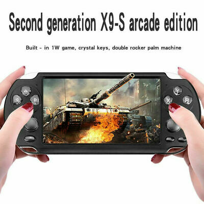 2019 X9 5.1'' Portable 8GB Handheld PSP Game Consoles Player Built-in 100+ Games