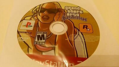 Grand Theft Auto: San Andreas, Sony Playstation 2, Game Disc Only