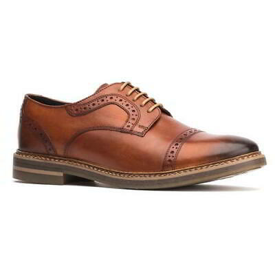 Base London Mens Butler Brown Tan Leather Brogues Lace Up Shoes Size 8-11
