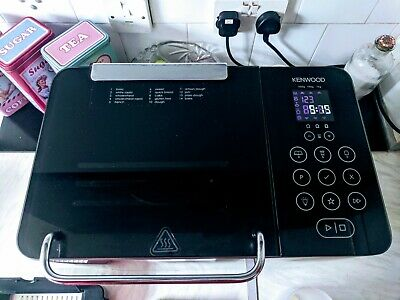 Kenwood BM450 Digital Rapid Bread Maker Silver/Black UK Seller
