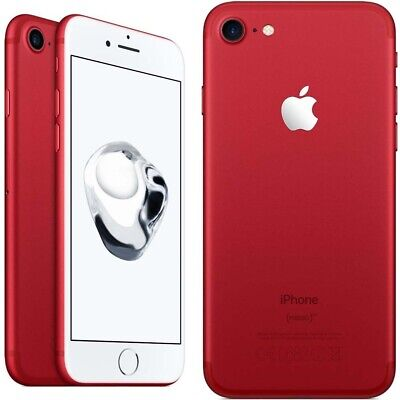 New Overstock Apple iPhone 7 - 128 GB Red GSM Unlocked for ATT T-Mobile