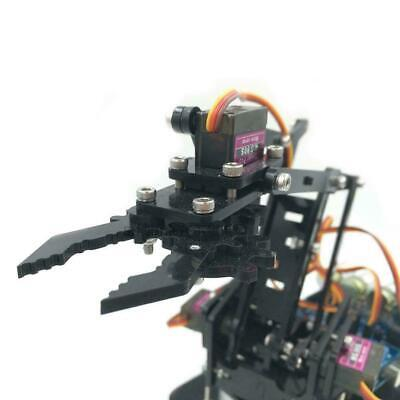 DIY Acrylic robot arm robot claw kit 4DOF learn kit SNAM500 W9M2