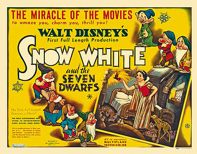 Pinocchio 1940 Disney cult movie cartoon poster print #17