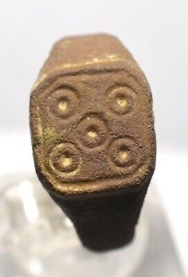 Antiker Bronze Ring- Mittelalter ( 42)