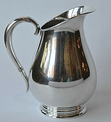 International Royal Danish Sterling Silver Pitcher