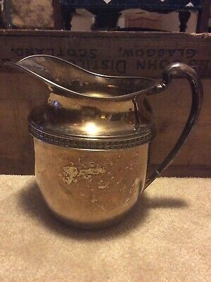 Antique Silver Plate Water Pitcher