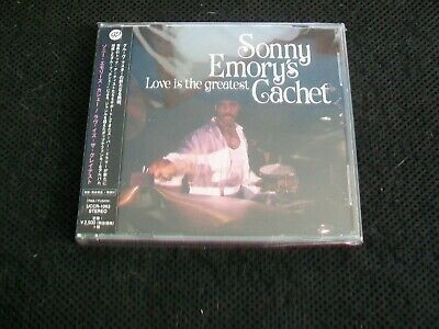 Love is the Greatest by Sonny Emory's Cachet (CD, 2017, Universal/Japan) New