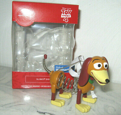 2019 Hallmark Disney Pixar Toy Story 4 Slinky Dog Puppy Pup Christmas Ornament