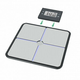 40482 Medisana Bs 460 Electronic Personal Scale 180 Kg 100 G Kg Rectangle Grey