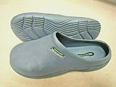 NEW Town & Country grey lightweight CLOGGIES--Size 6 UK adult.